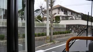 【前面展望】名張駅~百合ヶ丘~名張駅【三重交通・07系統】