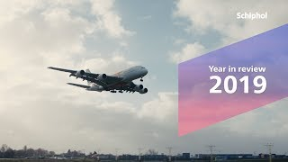 Year in review Schiphol 2019