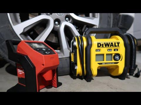 Milwaukee VS DeWalt Tire Inflator, Whos the Winner