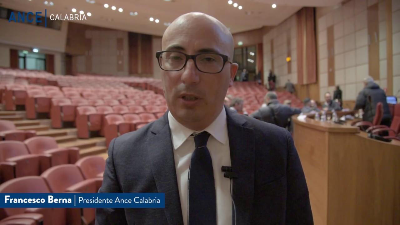 """Ance Calabria - Convegno """"Rigeneriamo la Calabria"""""""