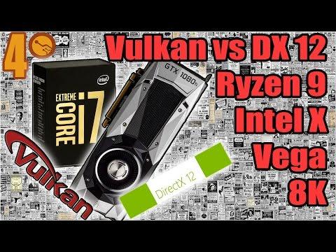 Gama extrema de CPU´s - Vulkan vs DX12 - i7 7740K - Noticias de la semana 4
