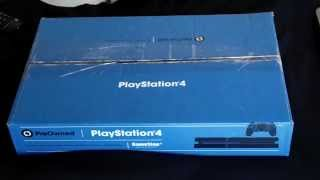 A-DSplay Unboxing 3/23/15: Sony Playstation 4 (Gamestop Pre-Owned)(Finally, after months of push back, I was finally able to purchase a PS4 gaming console. Even though it was not the one I wanted to get for myself it was the best ..., 2015-03-25T17:37:02.000Z)