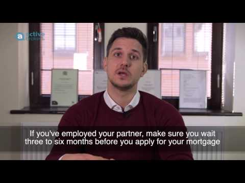 Self-Employed Mortgager - Employing your Partner