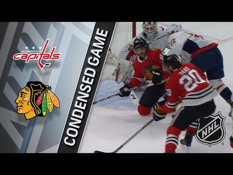 02/17/18 Condensed Game: Capitals @ Blackhawks