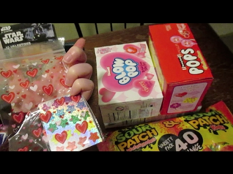 Valentines Day Goodie Bags Small Kids Gifts Youtube