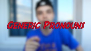 Generic Pronouns - Learn English online free video lessons(This video is about generic pronouns. Don't forget to subscribe for more FREE ENGLISH VIDEO LESSONS ..., 2016-06-19T05:46:40.000Z)