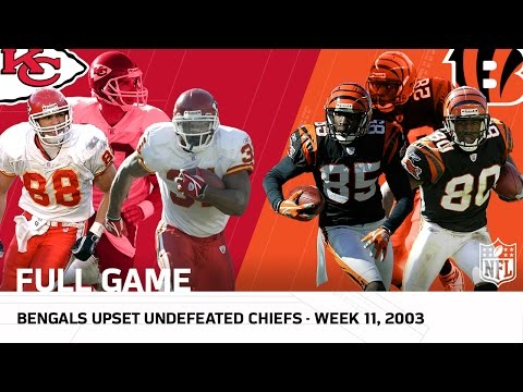 Bengals vs. 9-0 Chiefs (Week 11, 2003) | NFL Full Game