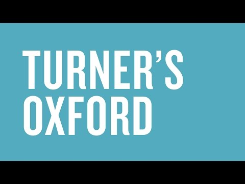 Turner's Oxford: Funding secured to acquire a major painting by JMW Turner