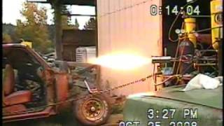 Liquid Nitrous Oxide-Kerosene Rocket Engine Part 4 of 5