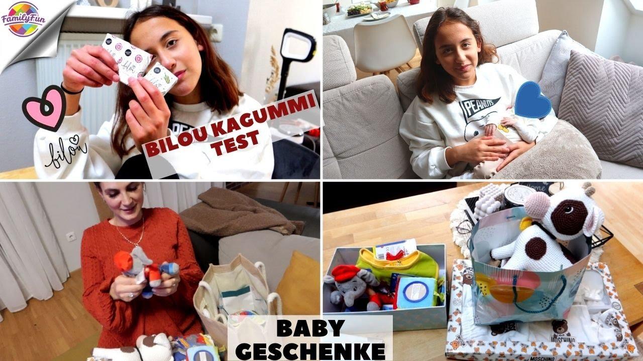 ERSTE GESCHENKE FÜR ENKELKIND 🎁NEUGEBORENEN 👶 BESUCH  BILOU KAUGUMMI TEST   Daily Vlog Family Fun