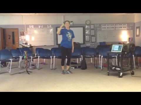 BGMS Choir- Try Everything Choreography Fast Tempo