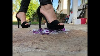 WALKING ON GLASS WITH HEELS
