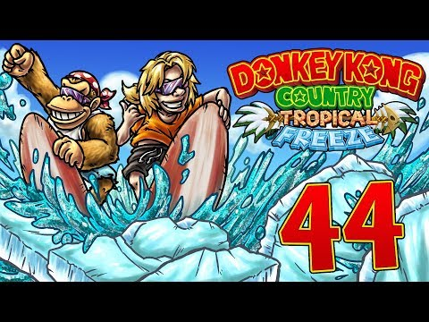 Let's Replay Donkey Kong Country Tropical Freeze [German][Funky-Modus][#44] - Richtig übel!