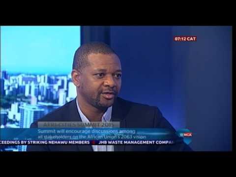 SACN's CEO Sithole Mbanga (26 November 2015)