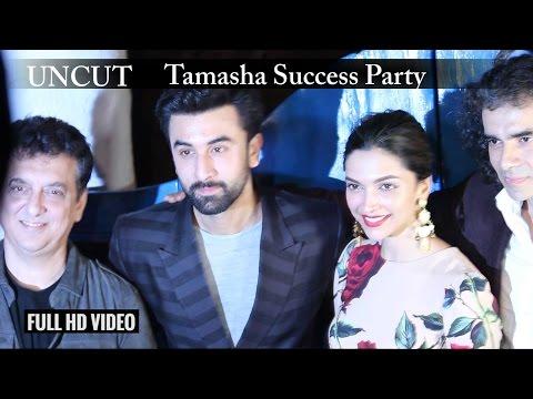 UNCUT - Tamasha Success Party |  Ranbir Kapoor  | Deepika Padukone |  Imtiaz Ali