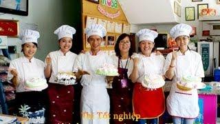 Thi nghề trang trí bánh kem khóa 15/2013