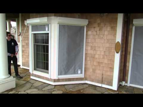 Armor Screen Bay Window Roll-Up