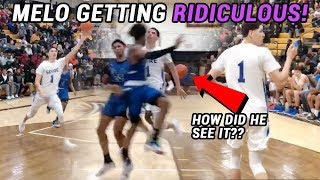 LaMelo Ball Is OFFICIALLY The Best Passer In High School! Throws INSANE DIMES All Game In Spire W 😧