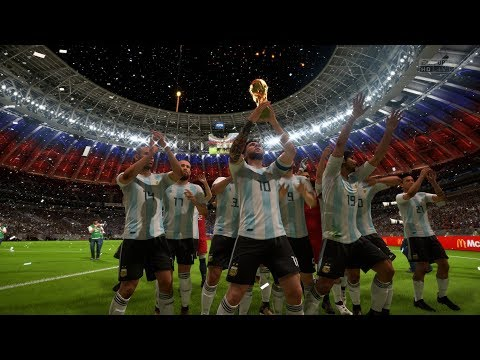 World Cup 2018 Russia Final | Argentina vs Uruguay | FIFA 18 World Cup Mode Gameplay