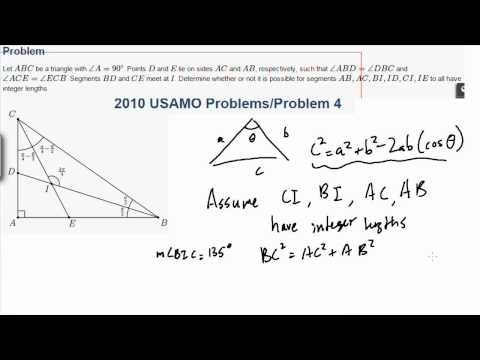 Hard Geometry Part 2 [USAMO 2010 #4]