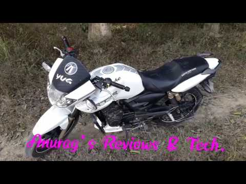 TVS Apache RTR 180 Genuine review. Real Avarage & Top speed.