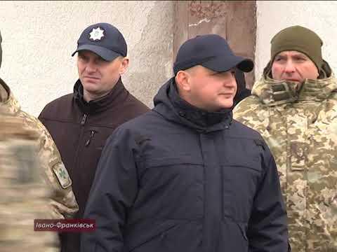 В Івано-Франківську проходять масштабні антитерористичні навчання