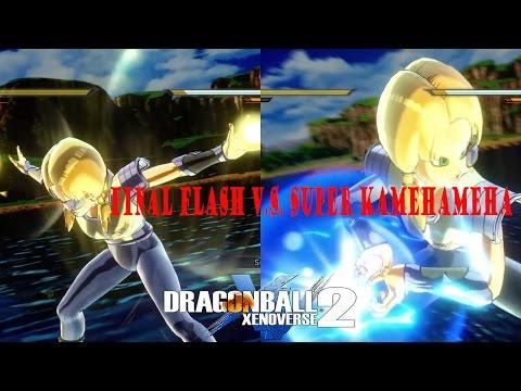 DBXV2 Final Flash V.S. Super Kamehameha-Best of Xenoverse 2 Ep1