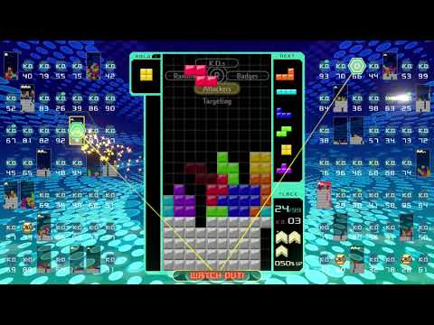 Tetris 99 - My Fourth Victory