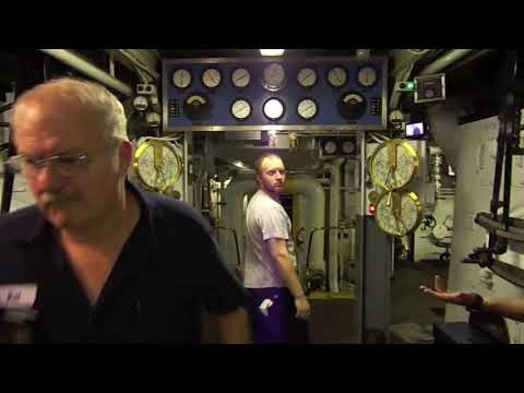 Behind the Scenes on the S.S. Badger
