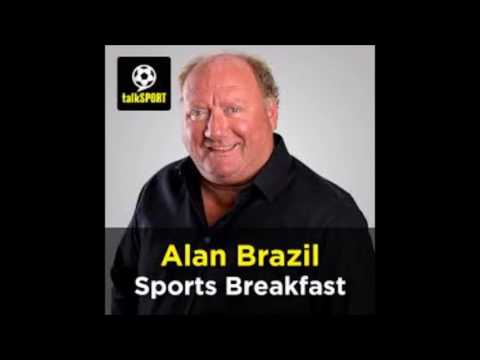 Alan Brazil v Sandy Warr Talksport sports breakfast 30/6/16