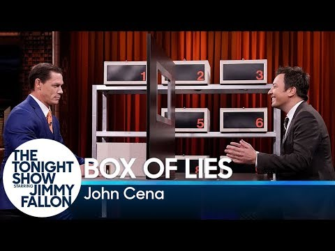 - John Cena in Box of Lies