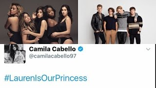 FIFTH HARMONY VS THE VAMPS (Two years Anniversary of #LaurenIsOurPrincess)