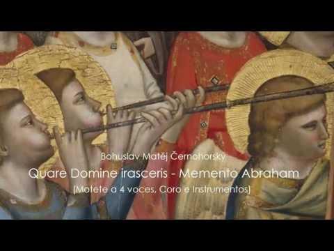Bohuslav Matej Cernohorsky -  Quare Domine irasceris