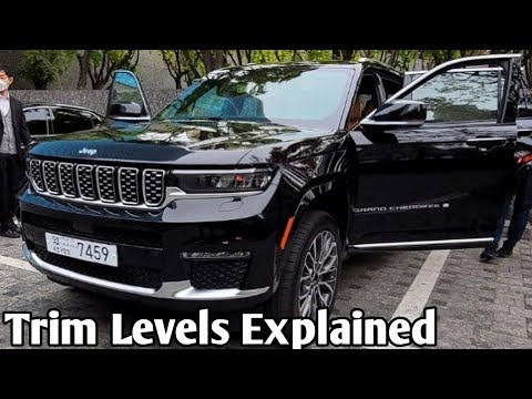 Jeep Grand Cherokee L 2022 Trim Levels Explained | 2022 Jeep Grand Charokke L | Jeep Grand Charokke