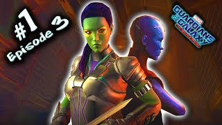 """MARVEL'S GUARDIANS OF THE GALAXY Episode 3 Gameplay HINDI(Telltale) Part 1 - """"MORE THAN A FEELING"""""""
