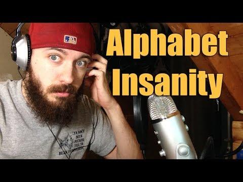 AMAZING TONGUE TWISTER RAP - Alphabet Insanity - Mac Lethal Attempt
