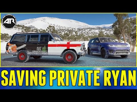 Forza Horizon 3 Online : Saving Private Ryan!!