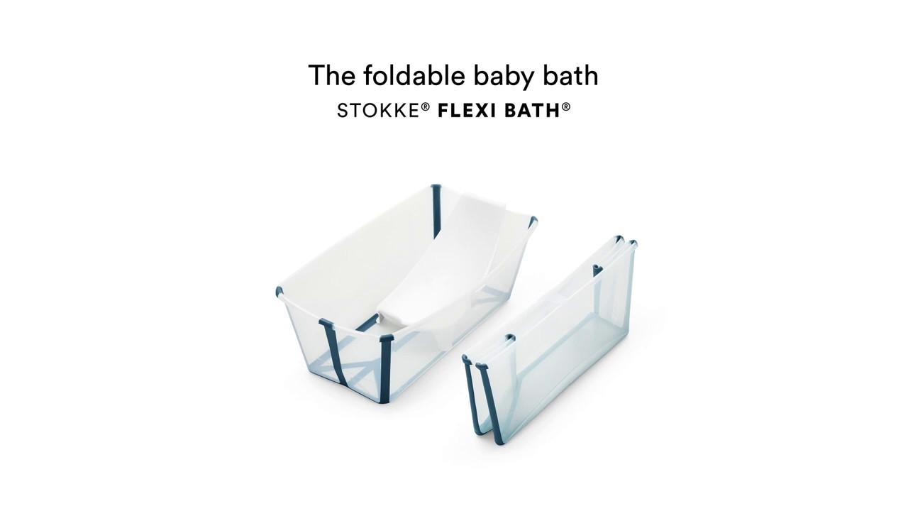 La Baignoire Pliable Pour Bebe Flexibath Stokke Youtube
