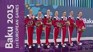Russia win Gold in the Women