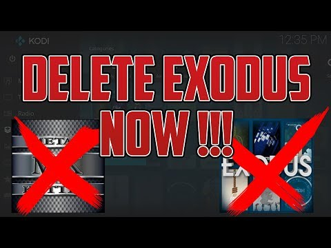 DELETE EXODUS AND METALKETTLE REPO NOW !!!! ( ITS BEEN HACKED) HOW TO DELETE