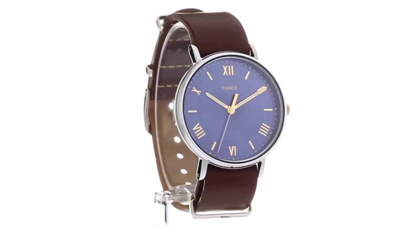 dd4d316f6 Timex Southview 41 Leather Strap SKU:8895698 - YouTube