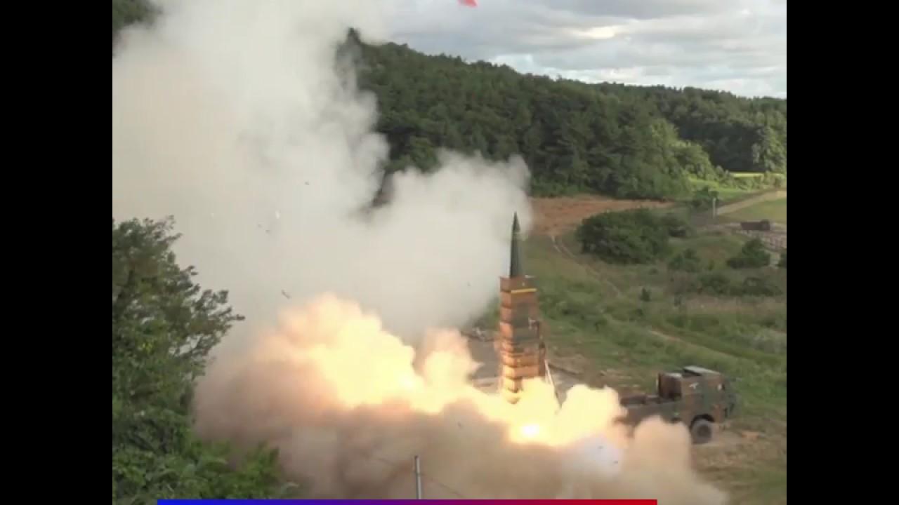 Южная Корея ответила КНДР запуском баллистической ракеты