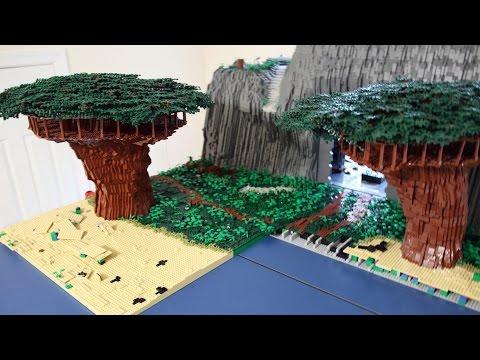 Moving Kashyyyk in LEGO - Part 1: Disassembling