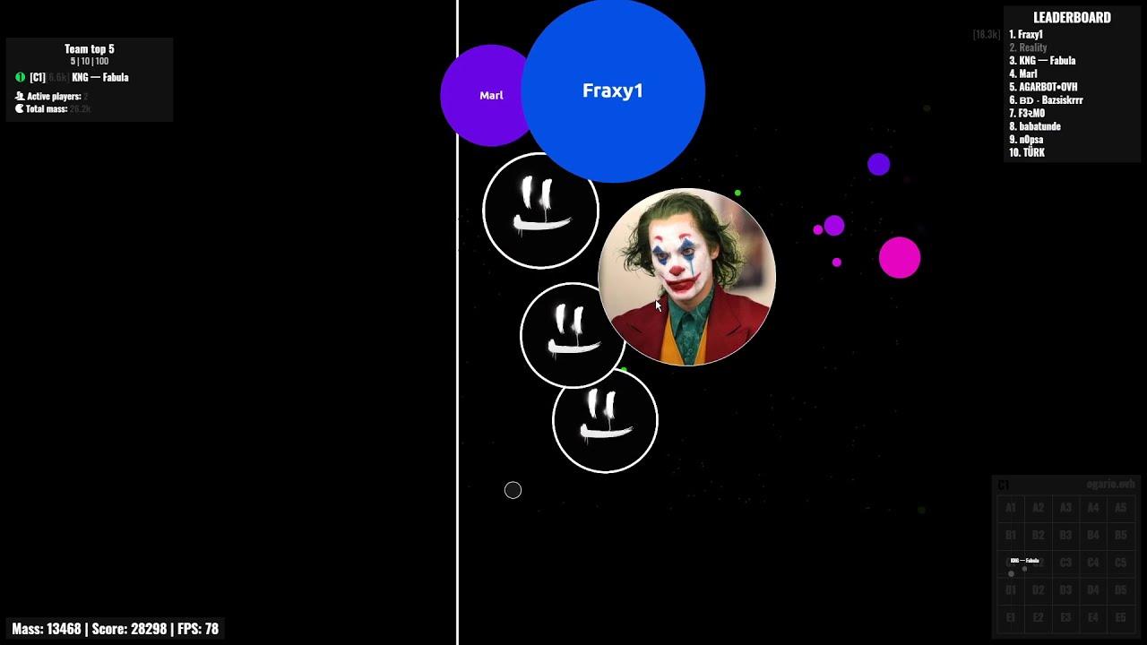 Agar.io - [OGAR] - Duo Takeover with Fabula #01