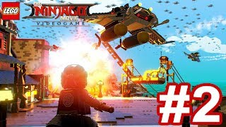 The LEGO Ninjago Movie Videogame - Gameplay Walkthrough Part 2 - Ninjago City North