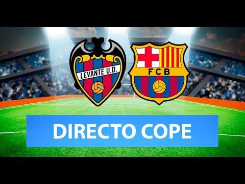 (SOLO AUDIO) Directo del Levante 3-3 Barcelona en Tiempo de Juego COPE