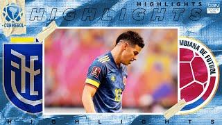 Ecuador 6 - 1 Colombia - HIGHLIGHTS & GOALS - 11/17/2020