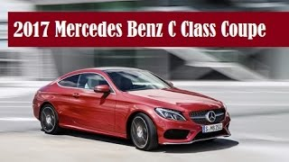 2017 Mercedes-Benz C-Class Coupe, ready for the 2015 Frankfurt Auto Show