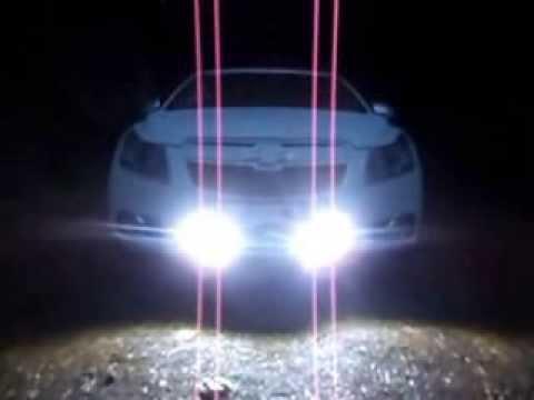 ДХО+стробоскопы на Chevrolet Cruze