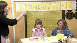 Craftsanity On Tv: How To Make Your Own Lemonade Stand
